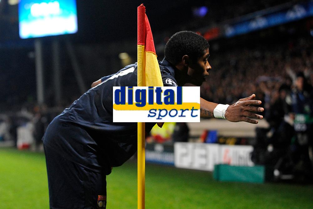 FOOTBALL - UEFA CHAMPIONS LEAGUE 2009/2010 - GROUP E - OLYMPIQUE LYONNAIS v DEBRECENI VSC - 9/12/2009 - PHOTO FRANCK FAUGERE / DPPI