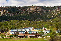 Earthship, the former home of actor Dennis Weaver, RIdgway, Colorado USA