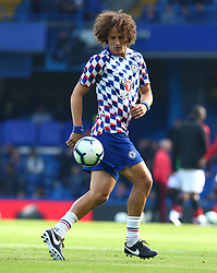 October 20, 2018 - London, England, United Kingdom - London, England - October 20: 2018.Chelsea's David Luiz during the pre-match warm-up .during Premier League between Chelsea and Manchester United at Stamford Bridge stadium , London, England on 20 Oct 2018. (Credit Image: © Action Foto Sport/NurPhoto via ZUMA Press)