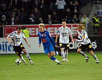 Fotball, Tippeligaen, Rosenborg ( RBK ) - Lyn,<br /> Roar Strand Kim Holmen Fredrik Stoor Per Ciljan Skjelbred   <br /> Foto: Carl-Erik Eriksson, Digitalsport