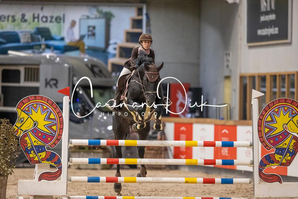 Doms Sharon, BEL, Quilano vd D&D Hoeve<br /> Pavo Hengsten competitie - Oudsbergen 2021<br /> © Hippo Foto - Dirk Caremans<br />  22/02/2021