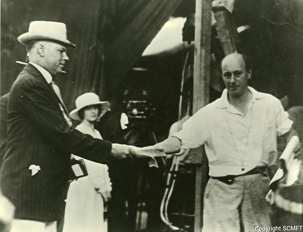 1919 CB DeMille at Famous Players Lasky Studios