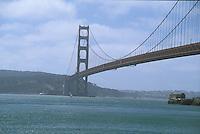 The Golden Gate Bridge, San Francisco California