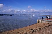 AYBPCE Bawdsey Quay beach River Deben mouth Suffolk England
