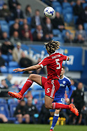 Ryan Shotton of Birmingham city in action. EFL Skybet championship match, Cardiff city v Birmingham City at the Cardiff City Stadium in Cardiff, South Wales on Saturday 11th March 2017.<br /> pic by Andrew Orchard, Andrew Orchard sports photography.