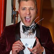 NLD/Amsterdam/20151015 - Televiziergala 2015, Jan Versteegh winnaar Televizier Aanstormend Talent Award
