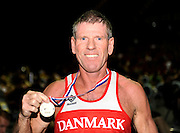 Birmingham, Great Britain,  Men's 55-59 LWT, Gold medallist John BUSK, Copenhagen Fire Bridge,   at the 2008 British Indoor Rowing Championships, National Indoor Arena. on  Sunday 26.10.2008 . [Photo, Peter Spurrier/Intersport-images] .