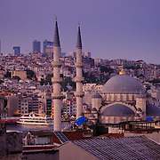 The New Mosque in Istanbul, Turkey