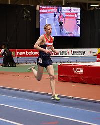 New Balance Indoor Grand Prix track meet: Galen Rupp, men's 3000 meters
