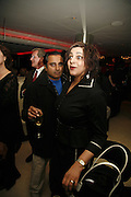 Sanjeev Bhaskar and Meera Syal, First night party for Smaller  at Floridita, 100 Wardour Street W1 on Tuesday 4 AprilONE TIME USE ONLY - DO NOT ARCHIVE  © Copyright Photograph by Dafydd Jones 66 Stockwell Park Rd. London SW9 0DA Tel 020 7733 0108 www.dafjones.com