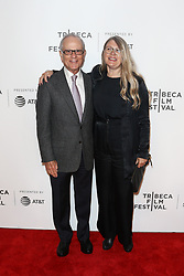 Producers Lou Pitt (L) and Judy Tossell attend 'The Exception' screening during the 2017 TriBeCa Film Festival at at BMCC Tribeca PAC on April 26, 2017 in New York City. (Photo by Debby Wong/imageSPACE) *** Please Use Credit from Credit Field ***