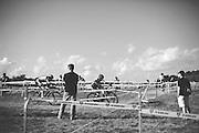 Trek hosts a cyclocross race in Waterloo, Wisconsin on September 20, 2014.