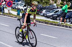 10.07.2019, Fuscher Törl, AUT, Ö-Tour, Österreich Radrundfahrt, 4. Etappe, von Radstadt nach Fuscher Törl (103,5 km), im Bild Gordian Banzer (Team Vorarlberg Santic, SUI) // during 4th stage from Radstadt to Fuscher Törl (103,5 km) of the 2019 Tour of Austria. Fuscher Törl, Austria on 2019/07/10. EXPA Pictures © 2019, PhotoCredit: EXPA/ JFK