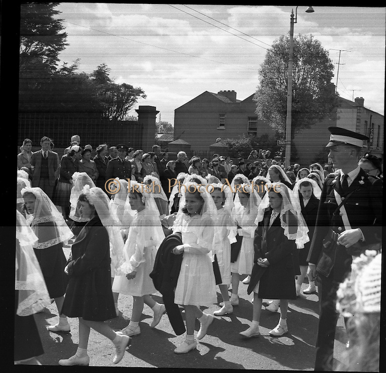 25/06/1958 <br /> 06/25/1958<br /> 25 June 1958<br /> <br /> Corpus Christi Procession, Dun Laoghaire