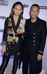 Chrissy Teigen and John Legend attend Sports Illustrated Swimsuit 2017 NYC launch event at Center415 Event Space on February 16, 2017 in New York City, NY, USA. Photo by Dennis Van Tine/ABACAPRESS.COM