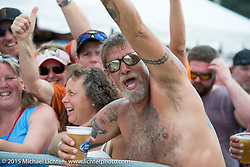Cole Slaw wrestling day at the Cabbage Patch during Daytona Beach Bike Week 2015. FL, USA. Wednesday, March 11, 2015.  Photography ©2015 Michael Lichter.