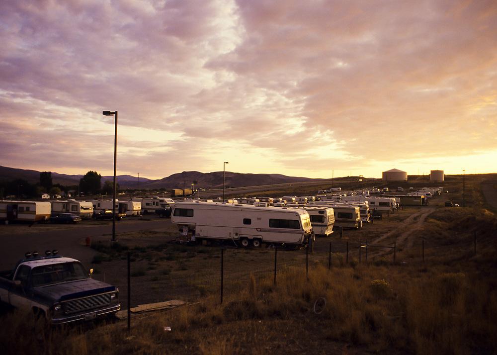 Miners Camp, Carlin Nevada