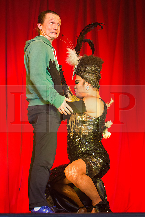 © Licensed to London News Pictures. 10/05/2017. Brighton, UK. The lady Boys of Bangkok show returns to Brighton for a month long stay with their new show. With a cast of 16 Lady Boys alongside male dancers the show returns for a record breaking 19th season touring the UK. Photo credit: Hugo Michiels/LNP