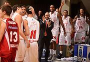 DESCRIZIONE : Desio campionato serie A 2013/14 EA7 Olimpia Milano Giorgio Tesi Group Piastoia <br /> GIOCATORE : team milano <br /> CATEGORIA : esultanza<br /> SQUADRA : EA7 Olimpia Milano<br /> EVENTO : Campionato serie A 2013/14<br /> GARA : EA7 Olimpia Milano Giorgio Tesi Group Piastoia<br /> DATA : 04/11/2013<br /> SPORT : Pallacanestro <br /> AUTORE : Agenzia Ciamillo-Castoria/R. Morgano<br /> Galleria : Lega Basket A 2013-2014  <br /> Fotonotizia : Desio campionato serie A 2013/14 EA7 Olimpia Milano Giorgio Tesi Group Piastoia<br /> Predefinita :