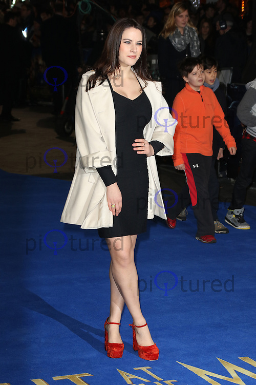 Kat Shoob, Night At The Museum: Secret Of The Tomb - European film premiere, Leicester Square, London UK, 15 December 2014, Photo by Richard Goldschmidt