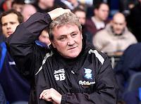 Photo: Daniel Hambury.<br />Tottenham Hotspur v Birmingham City. The Barclays Premiership. 26/12/2005.<br />Birmingham's under fire manager Steve Bruce.