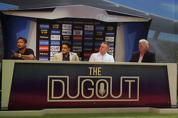 March 22, 2019 - Mumbai, India - Former cricketers address the media in a press conference in Mumbai, India on 22 March 2019. As the official broadcaster, Star Sports has unveiled 'Select Dugout' for the upcoming VIVO IPL 2019  (Credit Image: © Himanshu Bhatt/NurPhoto via ZUMA Press)