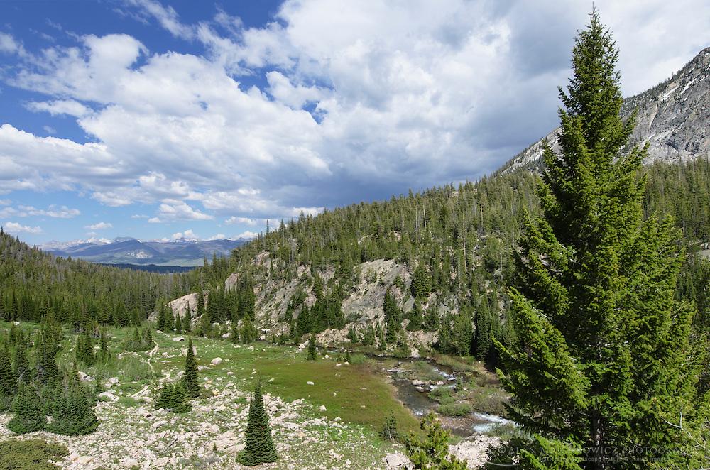Alice Lake-Toxaway Lake Loop Trail, Sawtooth Wilderness Idaho