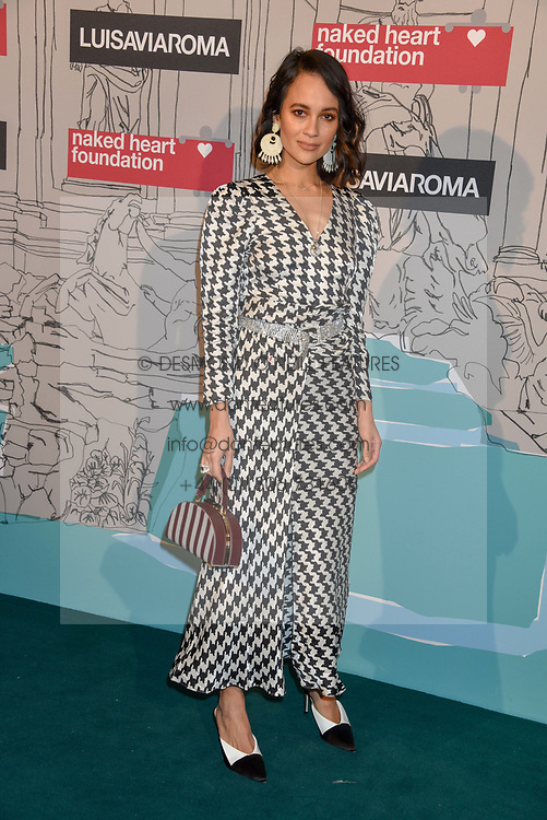 Anna Bitiello at the Fabulous Fund Fair in aid of Natalia Vodianova's Naked Heart Foundation in association with Luisaviaroma held at The Round House, Camden, London England. 18 February 2019.
