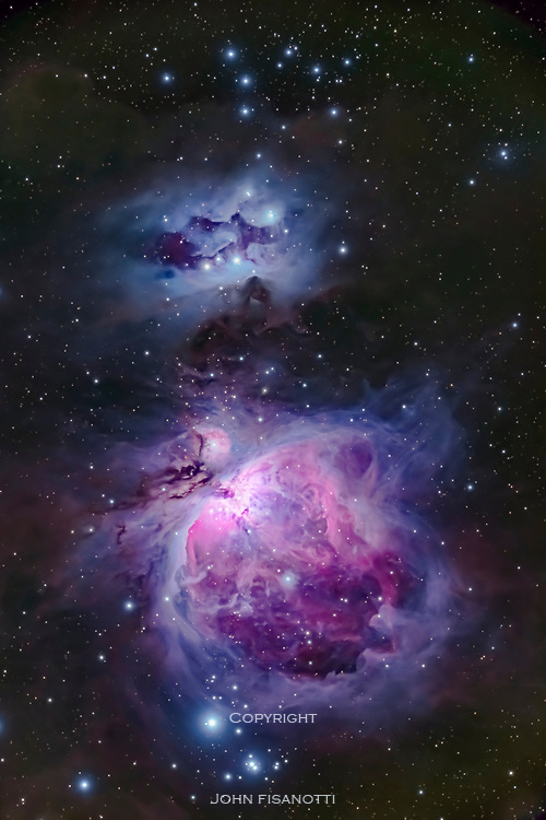 Orion's Sword, featuring the Great Orion Nebula (M42)