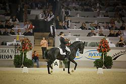 Van Grunsven Anky - IPS Painted Black<br /> CDI-W Mechelen 2008<br /> Photo © Dirk Caremans