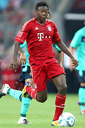 27.07.2011, Allianz Arena, Muenchen, GER, Audi Cup 2011, Finale,  FC Barcelona vs FC Bayern , im Bild David Alaba (Bayern #27)  // during the Audi Cup 2011,  FC Barcelona vs FC Bayern  , on 2011/07/27, Allianz Arena, Munich, Germany, EXPA Pictures © 2011, PhotoCredit: EXPA/ nph/  Straubmeier       ****** out of GER / CRO  / BEL ******