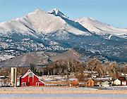 McIntosh Farm and Longs Peak, Longmont, Colorado