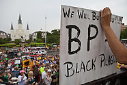 Protest against BP in New Orleans