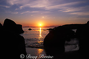 sunset over False Bay, Simons Town, Cape of Good Hope,<br /> South Africa