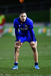 Jacopo Trulla of Italy<br /> <br /> Photographer Craig Thomas/Replay Images<br /> <br /> U20 Six Nations - Wales v Italy  - Friday 31st January 2020 - Stadiwm Zip World (Parc Eirias) - Colwyn Bay<br /> <br /> World Copyright © Replay Images . All rights reserved. info@replayimages.co.uk - http://replayimages.co.uk