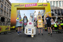 Participants at the start lineo of the 2019 London Landmarks Half Marathon.