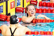 TOUSSAINT Kira Netherlands NED Gold Medal<br /> 100 backstroke women Final<br /> Glasgow 05/12/2019<br /> XX LEN European Short Course Swimming Championships 2019<br /> Tollcross International Swimming Centre<br /> Photo  Giorgio Scala / Deepbluemedia / Insidefoto