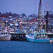 Newport RI Winter stock images