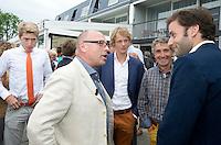 LOOSDRECHT - Maurits Hendriks. Lancering Sport Helpt, een initiatief van hockeyers Rogier Hofman en Tim Jenniskens. FOTO KOEN SUYK