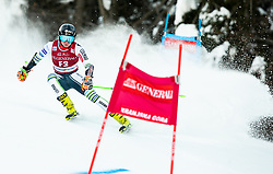 Forerunner Jakob Anderlic (SLO) during Ladies' Giant Slalom at 57th Golden Fox event at Audi FIS Ski World Cup 2020/21, on January 16, 2021 in Podkoren, Kranjska Gora, Slovenia. Photo by Vid Ponikvar / Sportida