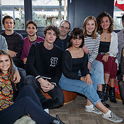 NLD/Amsterdam/20190108 - persdag VALS, volledige cast met schrijver