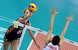 01-10-2014 ITA: World Championship Volleyball Servie - Nederland, Verona<br /> Nederland verliest met 3-0 van Servie em is uitgeschakeld voor de final 6 / Judith Pietersen