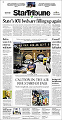 August 21, 2021 - USA: Front-page: Today's Newspapers In United States