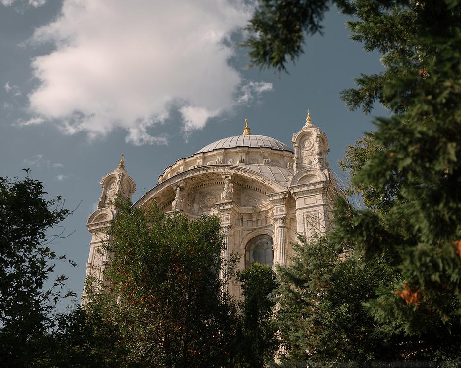 The Ortaköy Mosque.
