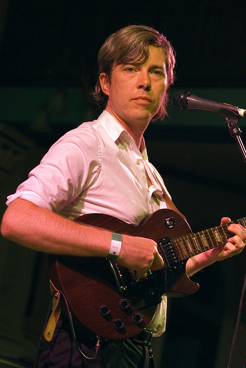 Bill Callahan (formerly known as Smog) plays St Georges Church in Brighton on August 18 2009.