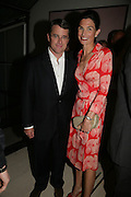 Will and Jeanne Callanan, Party hosted by Sir Richard and Lady Ruth Rogers at their house in Chelsea  to celebrate the extraordinary achievement of completing this year's Pavilion  by Olafur Eliasson and Kjetil Thorsenat at the Serpentine.  13 September 2007. -DO NOT ARCHIVE-© Copyright Photograph by Dafydd Jones. 248 Clapham Rd. London SW9 0PZ. Tel 0207 820 0771. www.dafjones.com.