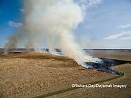 63863-02907 Prescribed Burn by IDNR Prairie Ridge State Natural Area Marion Co. IL