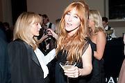 Hannah MacGibbon; Charlotte Tilbury, Harpers Bazaar Women of the Year Awards. North Audley St. London. 1 November 2010. -DO NOT ARCHIVE-© Copyright Photograph by Dafydd Jones. 248 Clapham Rd. London SW9 0PZ. Tel 0207 820 0771. www.dafjones.com.