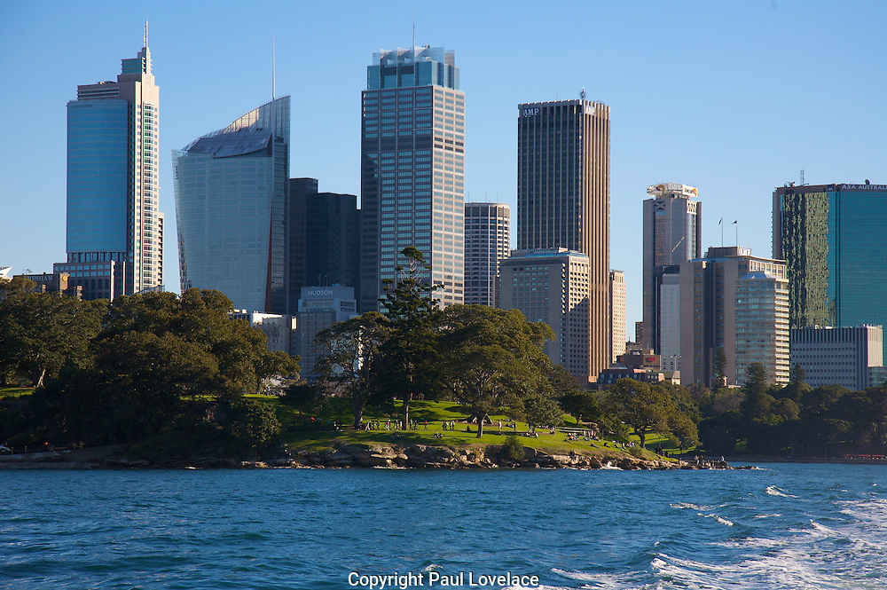 Sydney on the harbour.