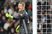 Cardiff CityCardiff City goalkeeper Alex Smithies during the EFL Sky Bet Championship match between Derby County and Cardiff City at the Pride Park, Derby, England on 13 September 2019.